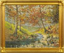 H J Stoltenberg autumn landscape