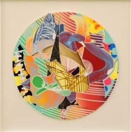 Frank Stella lithograph