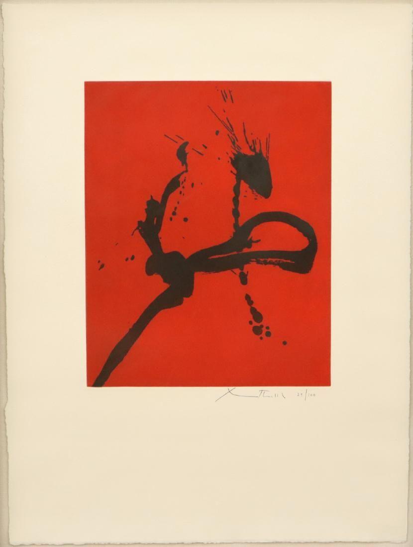 Robert Motherwell Etching & Aquatint