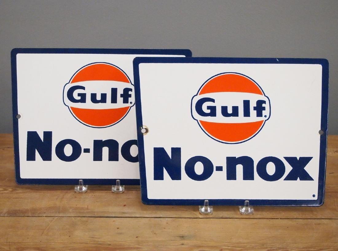 2 Gulf No-nox Pump Plates