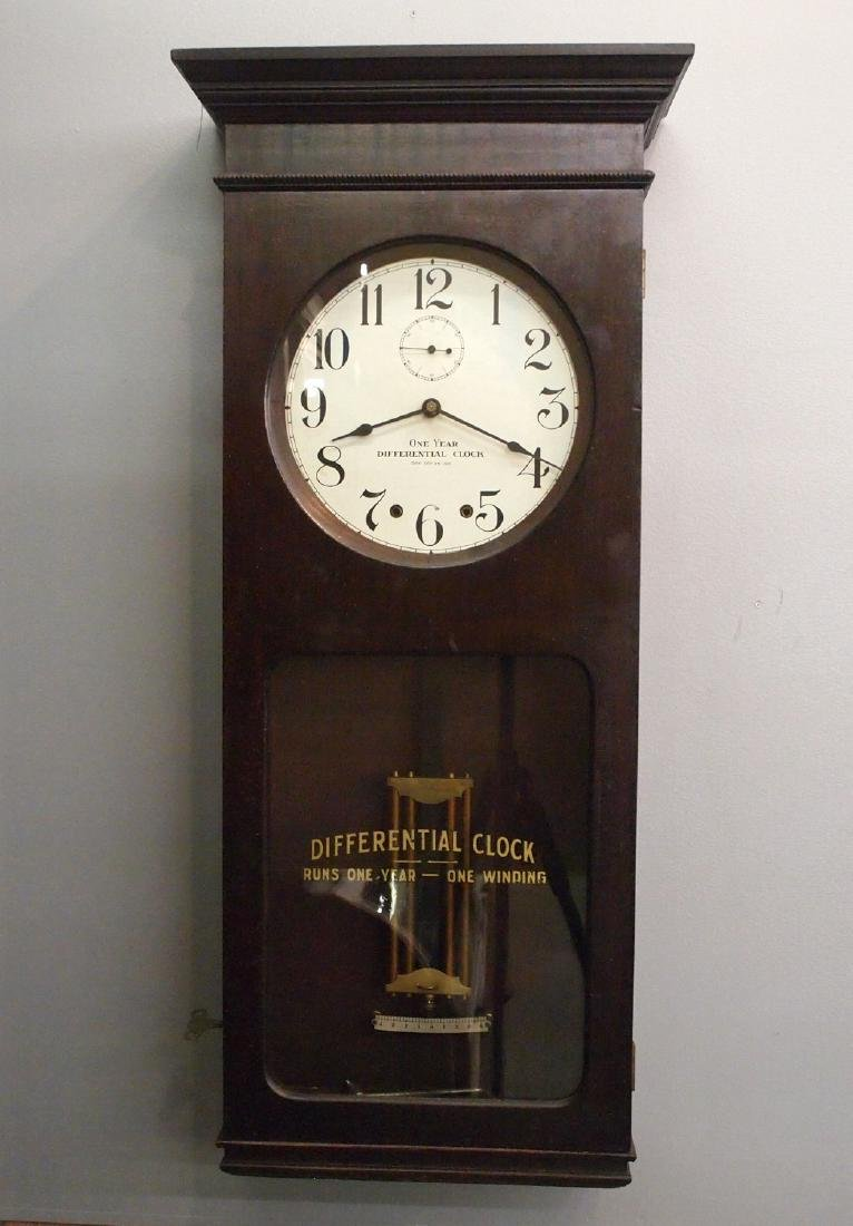 Differential Clock Co. 1 year wall clock