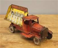 MetalCraft Toy Coca-Cola Delivery Truck