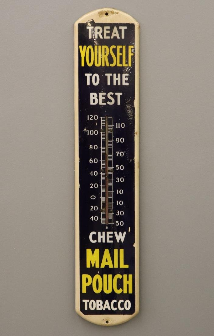 Mail Pouch Chewing Tobacco Wall Thermometer