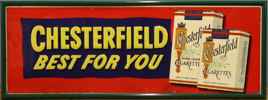 Embossed Tin Sign