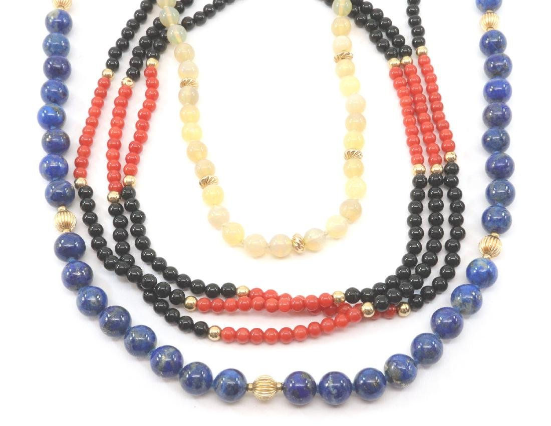 3 Beaded Necklaces
