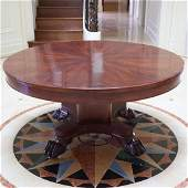 Empire Style Occasional Table