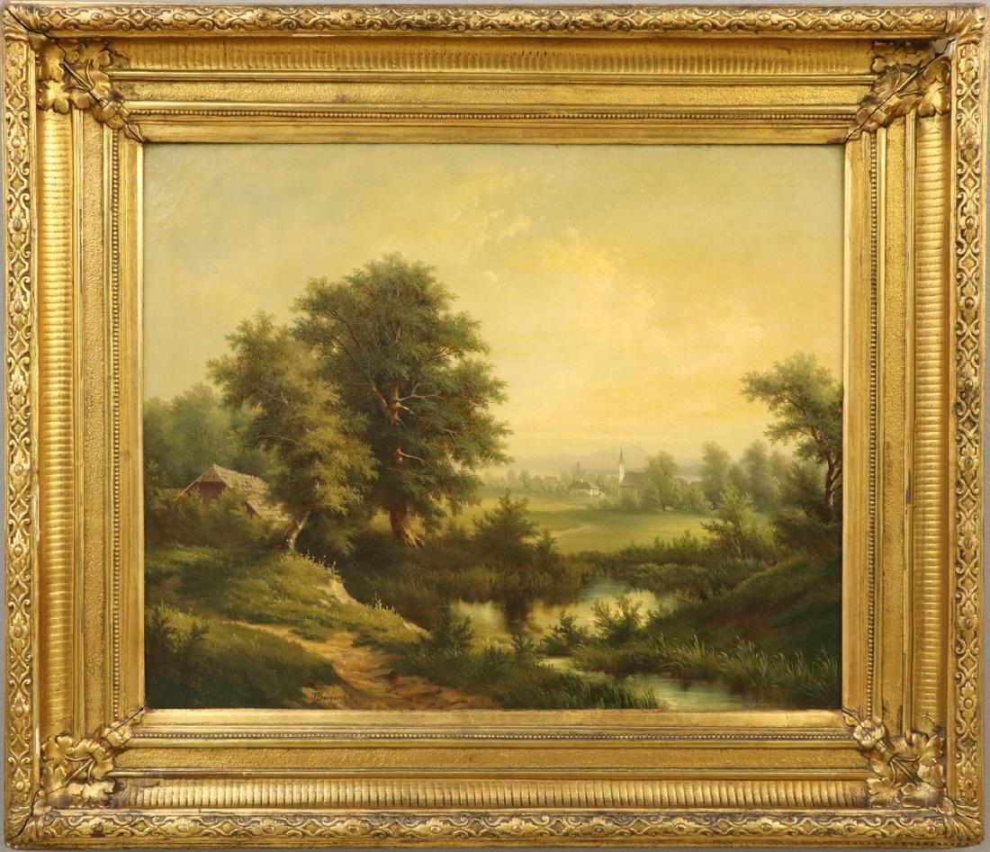 Joseph Burgaritsky Painting