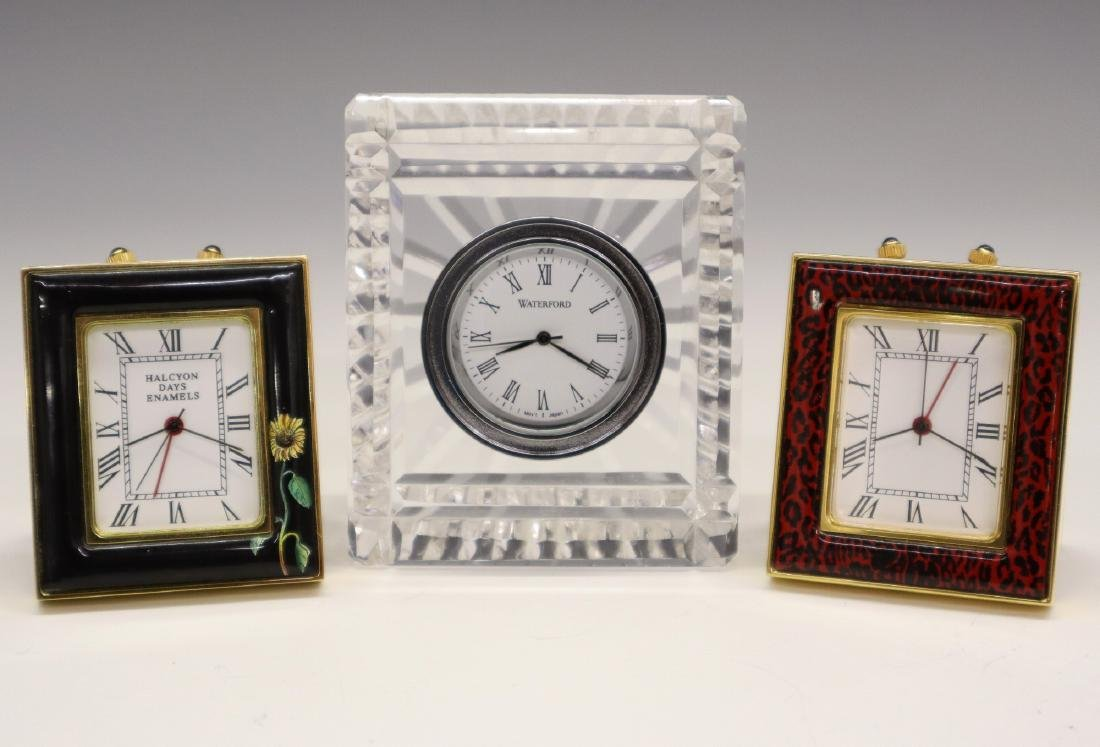 3 Small Clocks