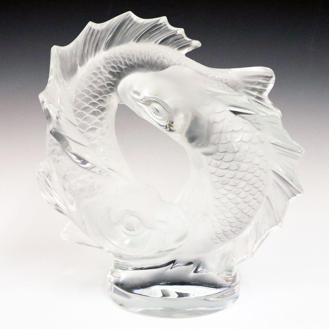 Lalique Crystal Fish