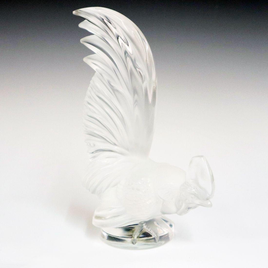 Lalique Crystal Car Mascot
