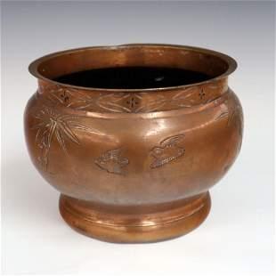 Chinese Copper Jardinire