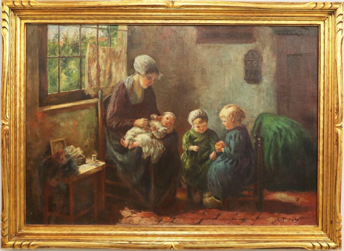 E.V. Conrady Painting