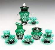 Murano Glass Demitasse Set
