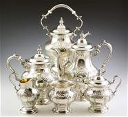 6 pcs Gorham Sterling Coffee  Tea Set