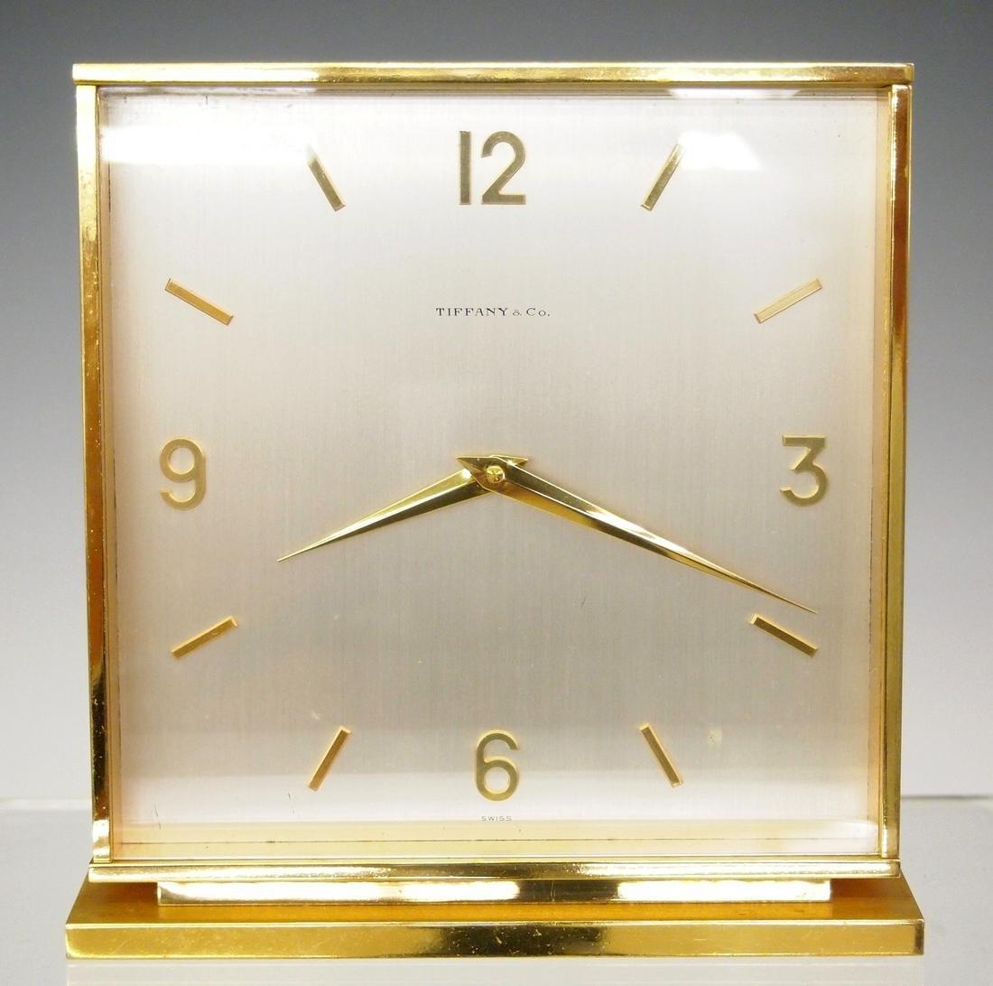 Tiffany & Co. desk clock