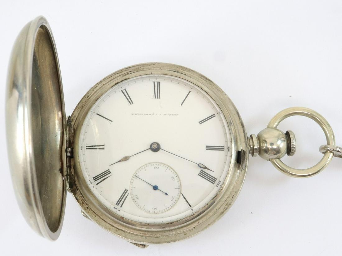 E. Howard & Co. pocket watch