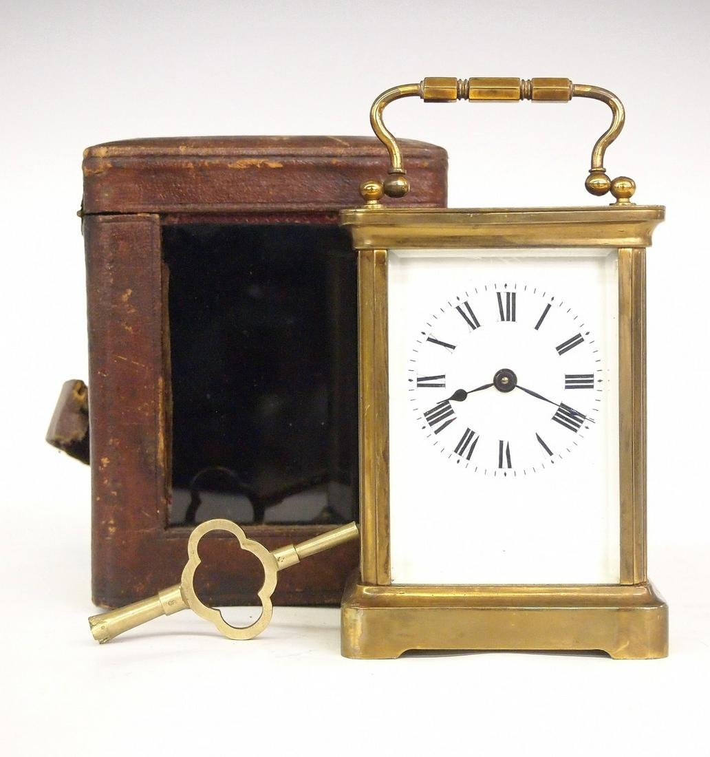 Cased French Carriage clock