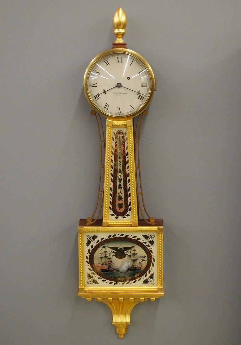 Foster Campos Presentation Banjo Clock