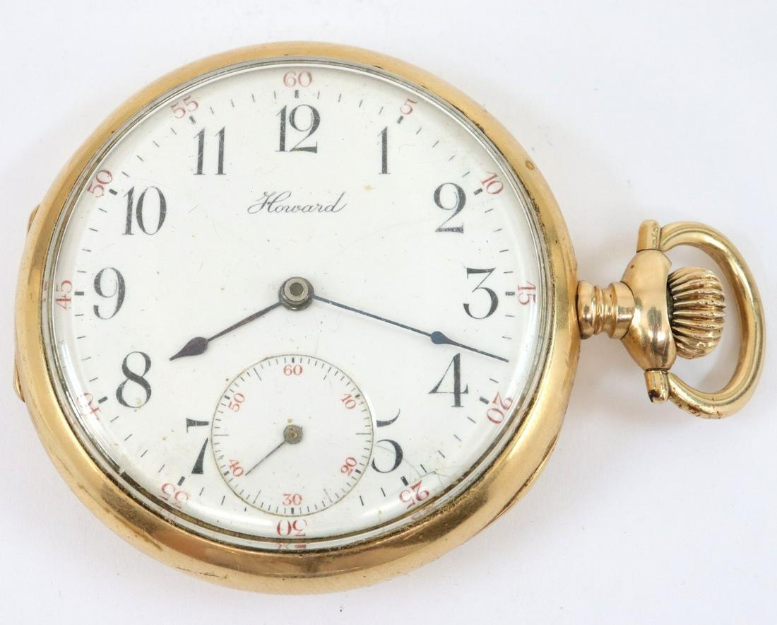 E. Howard & Co. 14k Gold pocket watch
