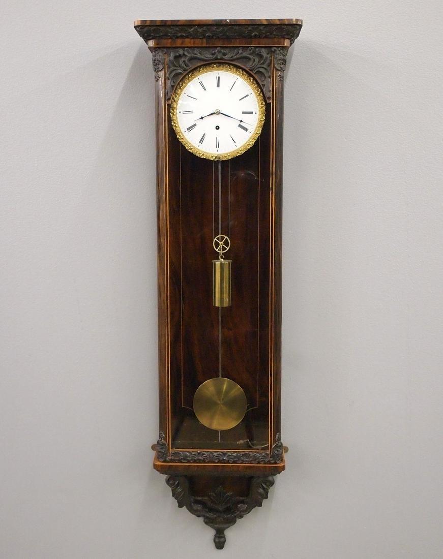 1 wt Vienna Regulator Wall Clock