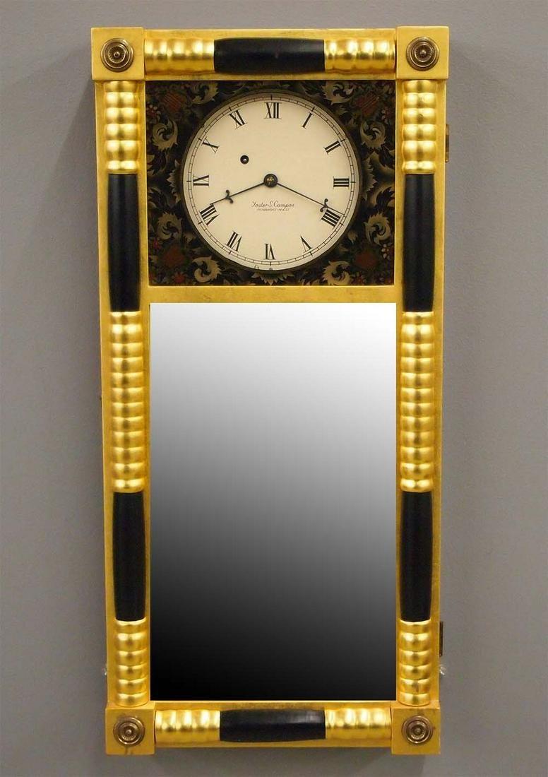 Foster Campos New Hampshire Mirror Clock