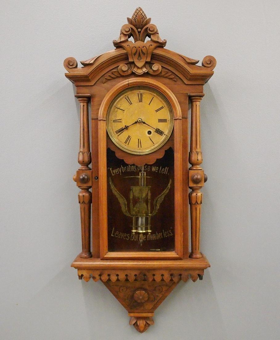 F. Kroeber No. 30 Regulator with Temperance glass