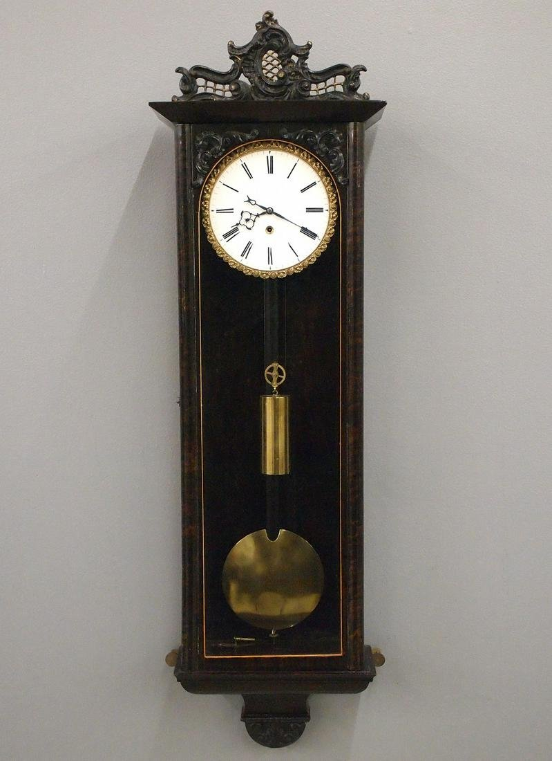 1 wt Vienna Regulator Wall Clock