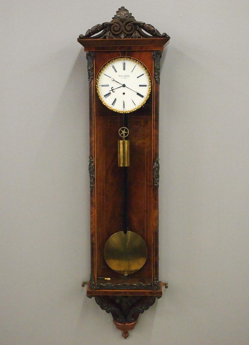 30 day Vienna Regulator Wall Clock