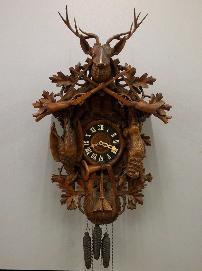 German Musical Cuckoo Clock