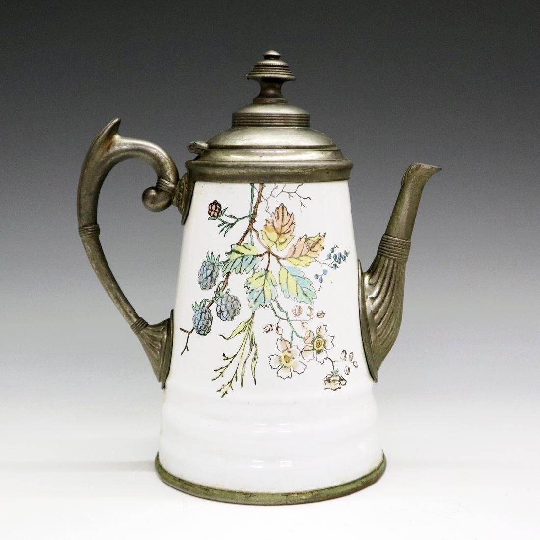 Enamel/Graniteware Teapot