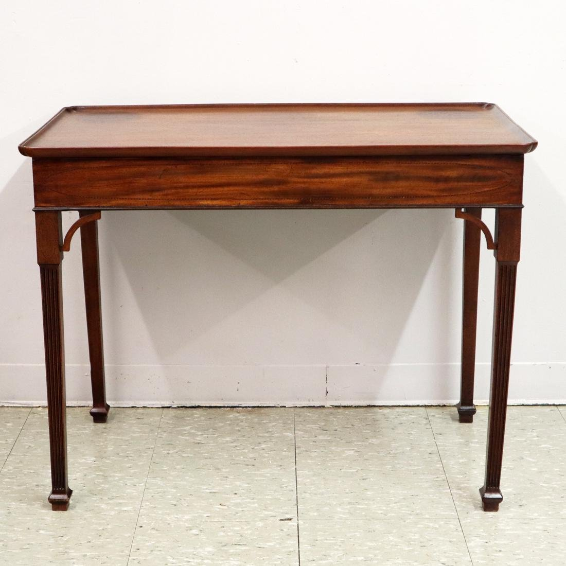 George III Silver Table