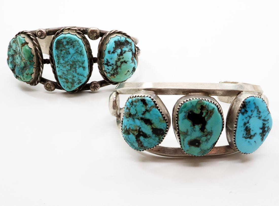 2 American Southwest Cuff Bracelet