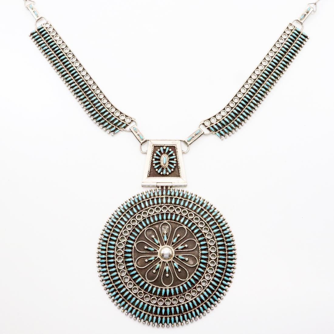Zuni Petit Point Necklace