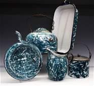 5 pcs of Chrysolite Graniteware