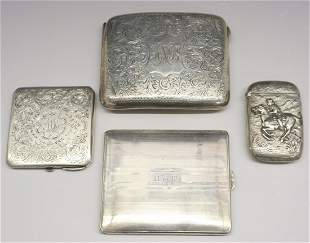 4 Sterling Cases