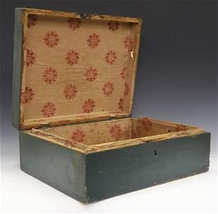 19th Century Painted Box