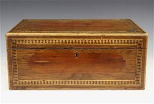 19th C. Inlaid Box