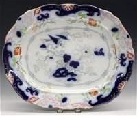 Gaudy Ironstone Platter