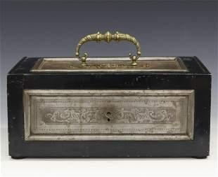 Victorian Iron Strongbox