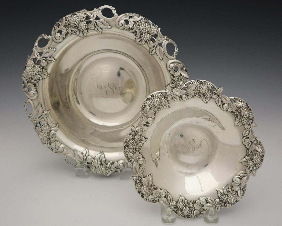 2 Tiffany & Co. Sterling Bowls
