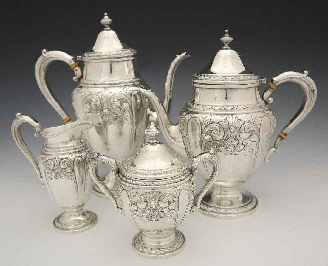 Amston Sterling Coffee & Tea Set