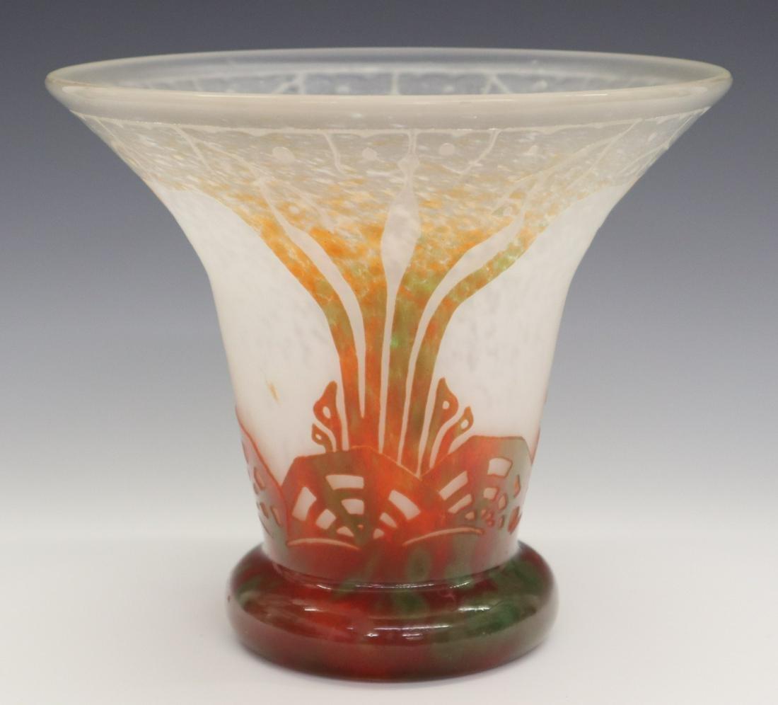Schneider/Le Verre Francais Vase