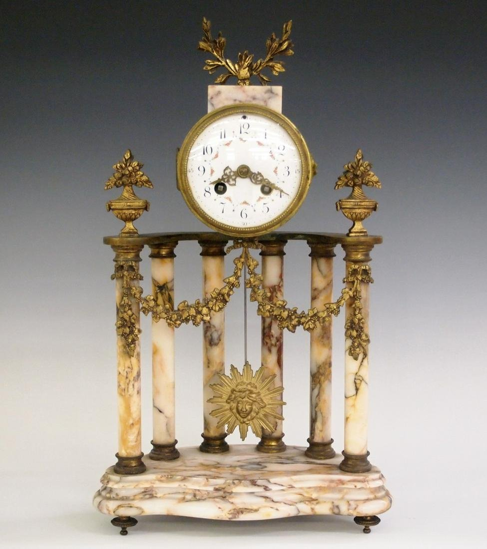 French L. Marti Mantle Clock
