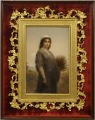 KPM Plaque of Ruth