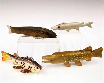 4 Fish Decoys