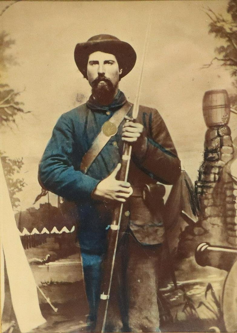 Civil War Photo of a Union Soldier