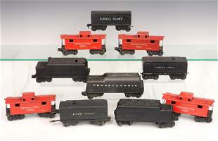 6 Lionel Tenders 4 Cabooses