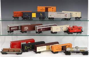 16 Lionel Rolling Stock Cars