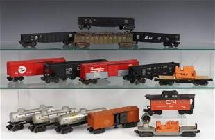 15 Lionel Train Cars