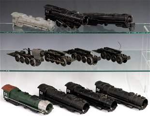 7 Lionel Locomotives